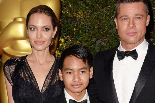 Сын Джоли надеется, что она скоро начнет ходить на свидания
