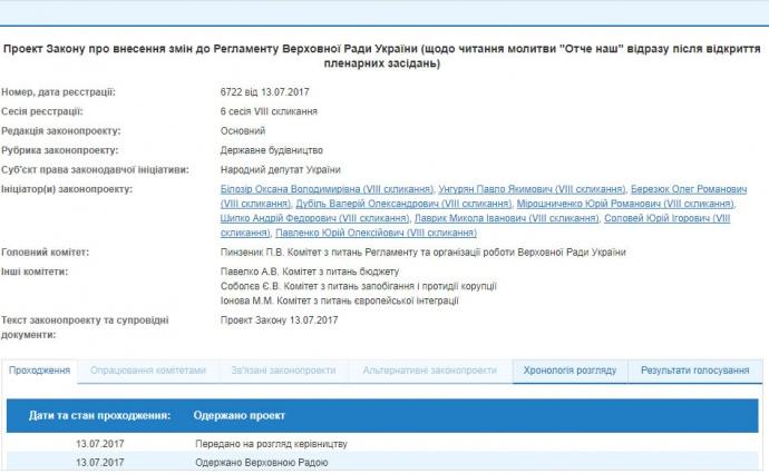 Дурь на выдумки хитра: депутаты хотят молиться перед украинцами