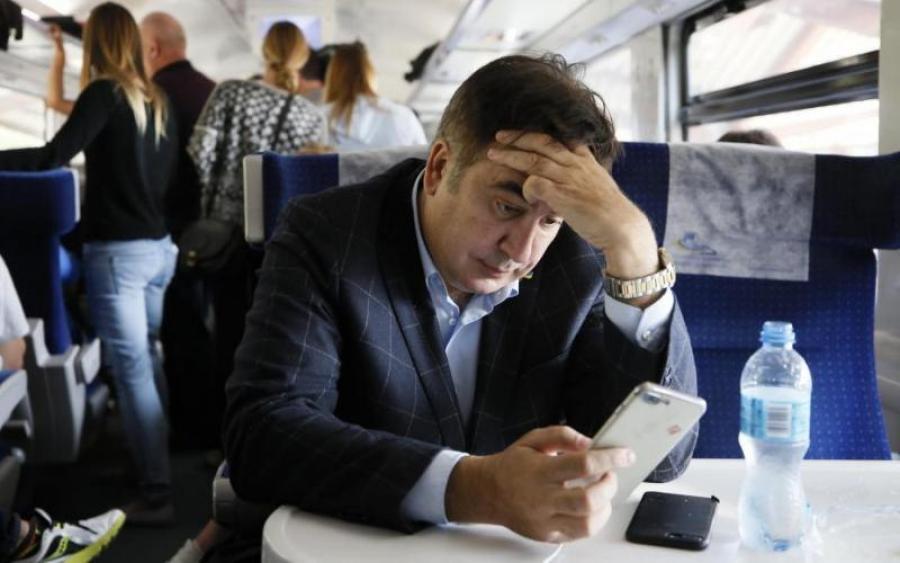 Суд оштрафовал Саакашвили за незаконное пересечение госграницы