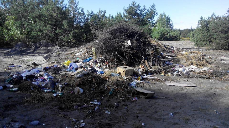 Тымчук: участникам АТО выделили землю на свалке