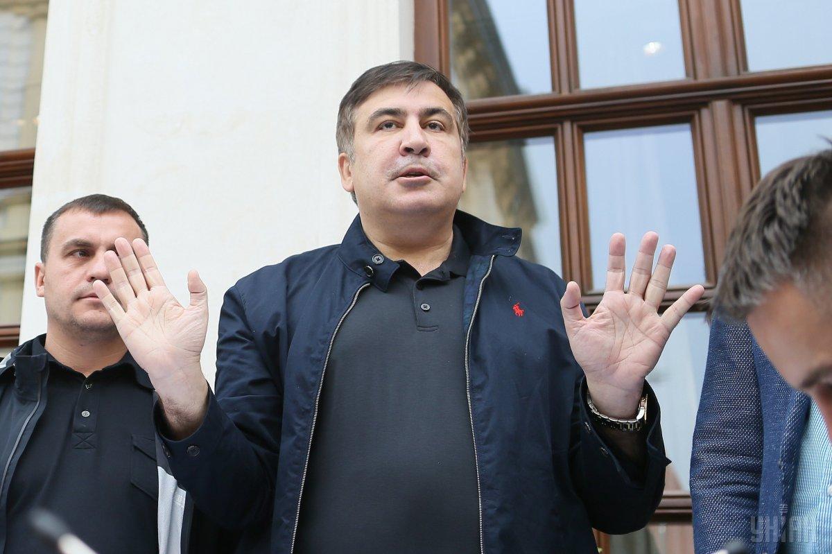 Саакашвили собрался штурмовать Киев в день Михайлова Чуда