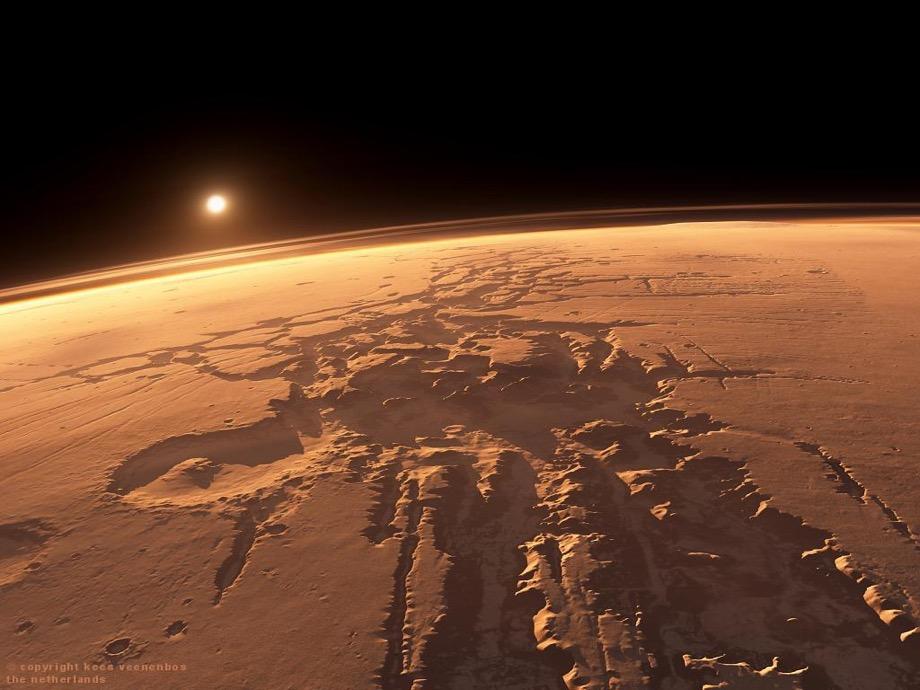 Сюрреалистический Марс: NASA опубликовала захватывающие фото