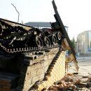 """Разнесло на куски: последствия взрыва """"символа террористов"""" в Луганске"""