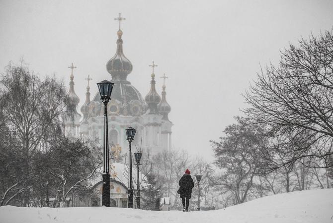 В Украину идет самая холодная зима столетия