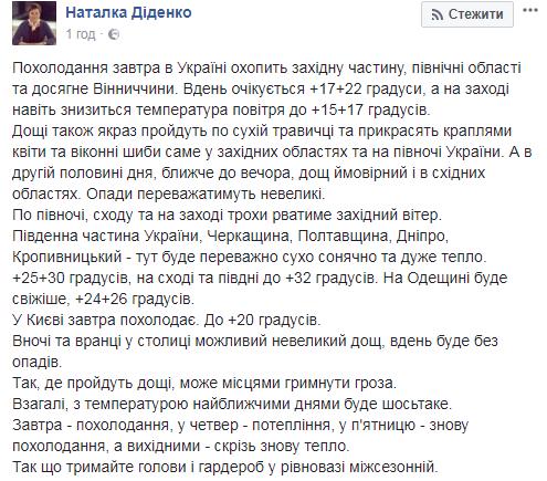 Погодные качели: в Украину идет похолодание. Каждый день разная температура