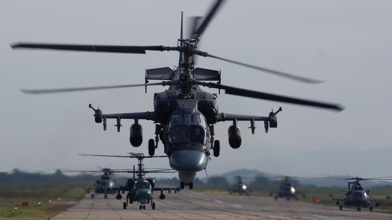 Российский боевой вертолет атаковал гражданских, появилось видео