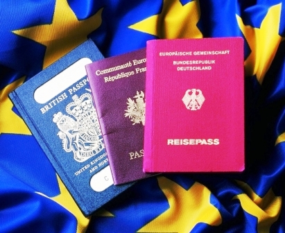 Украинцы занимают второе место по численности купленных паспортов ЕС