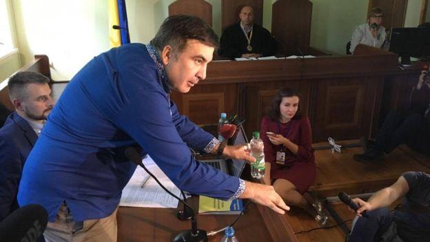 """Саакашвили одержал первую победу в своем """"прорыве"""""""