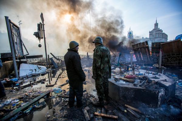 Волонтер: если будет Майдан с кровью, то он будет против судейской власти
