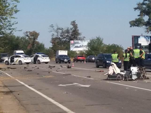 Смертельный тест-драйв Lexus: появилось жуткое фото ДТП в Херсоне