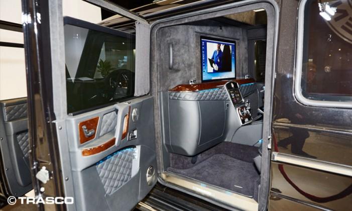 Технология 23-го века: Mercedes представил бронемашину для олигархов