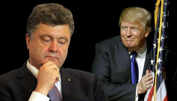 Трамп поинтересовался у Порошенко: Вы за Москву или Вашингтон?