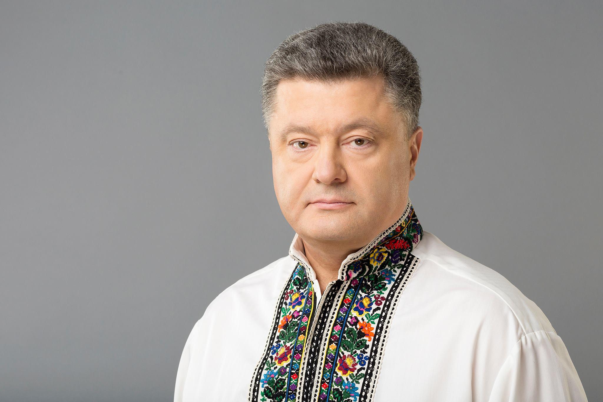 Украинцы за границей нажелали Порошенко такого, от чего он сам в шоке