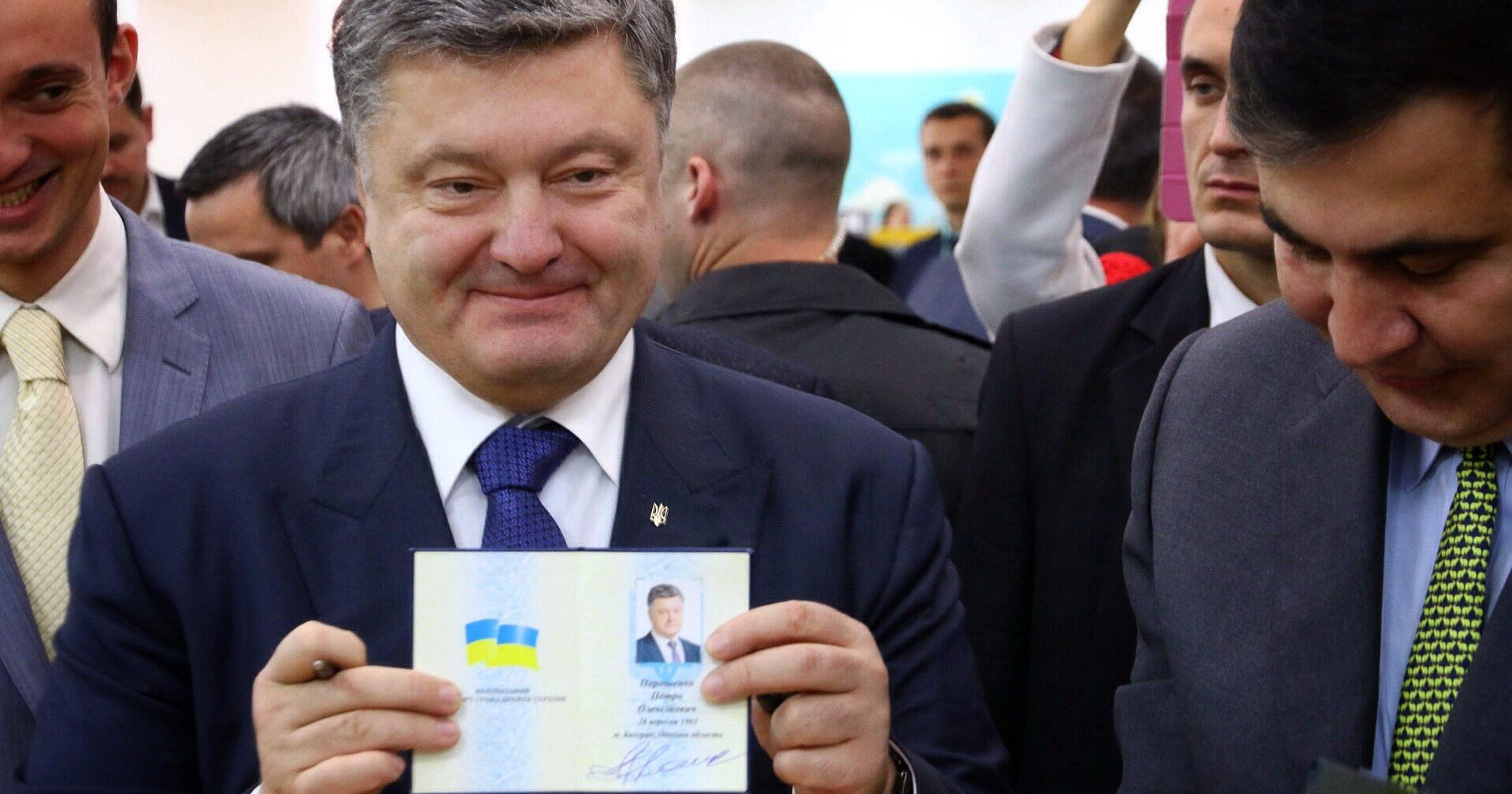 Узнайте первыми, кому Порошенко отдал гражданство Саакашвили