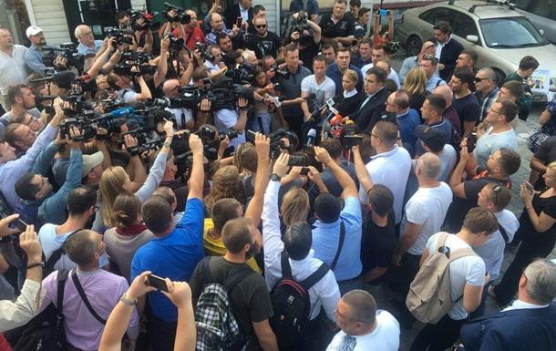 Первый скандал в «поезде Саакашвили»: героя дня отказываются везти