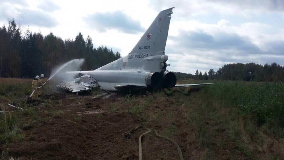 Учения Запад-2017: российский истребитель разорвало на части