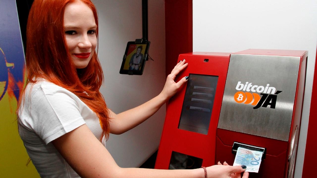 Старт дан! В Киеве запустили в работу первые терминалы для покупки криптовалюты