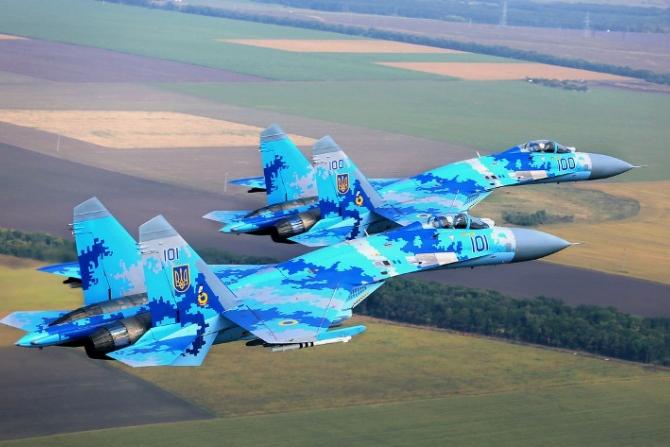 Защитники неба: воздушные силы Украины приведены в полную боевую готовность