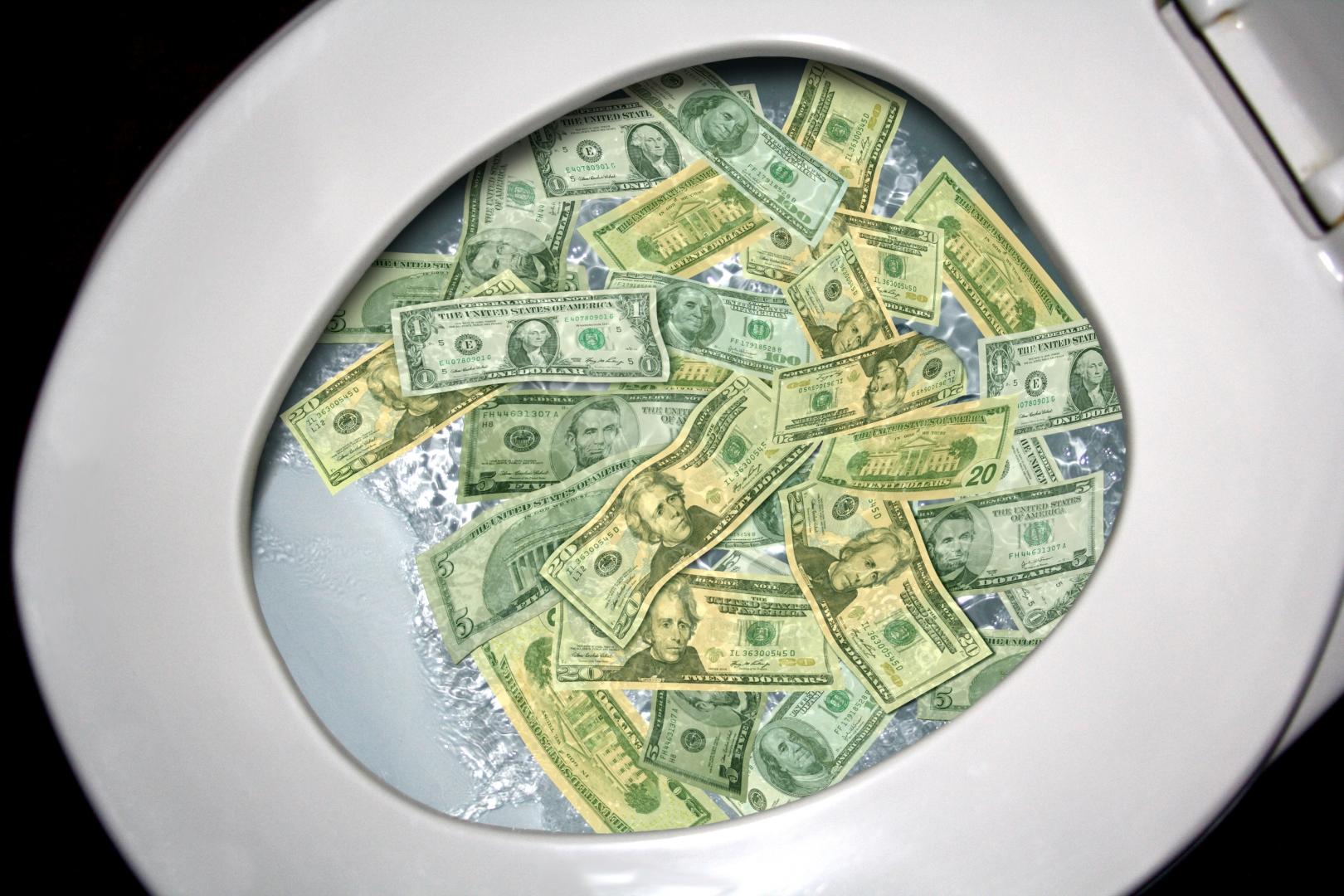 Сантехник Ющенко чистит унитазы на Банковой от старых купюр. Как издеваются над нами первые лица государства