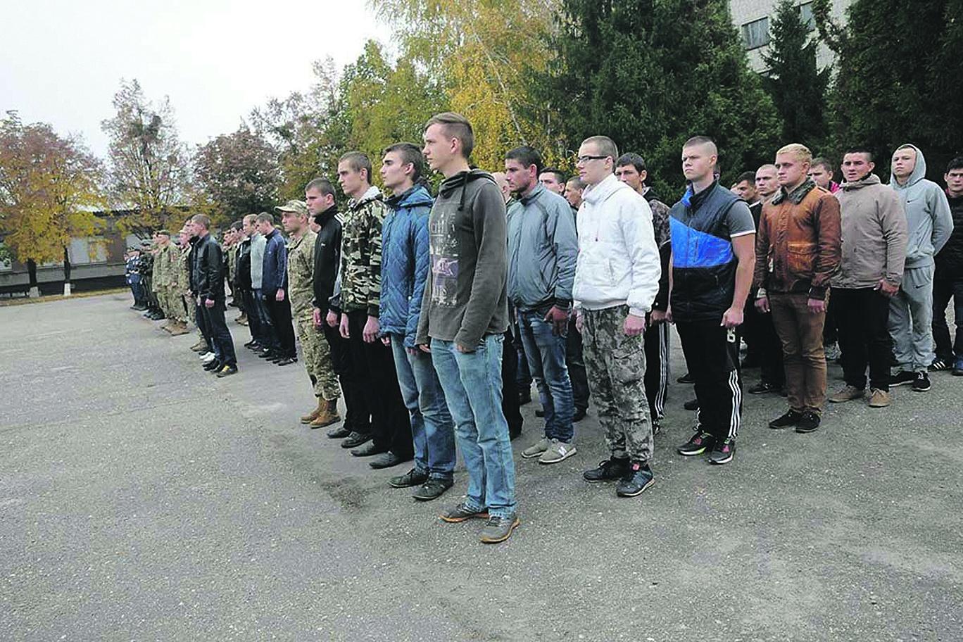Осенний призыв Гройсмана: сколько человек заберут в армию