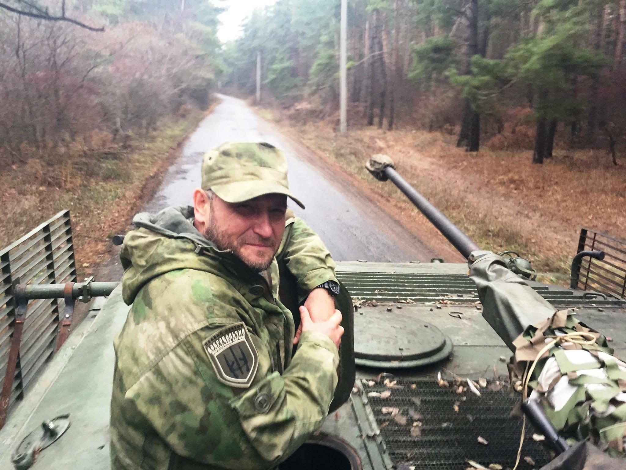Дмитрий Ярош: я знаю, как победить Россию