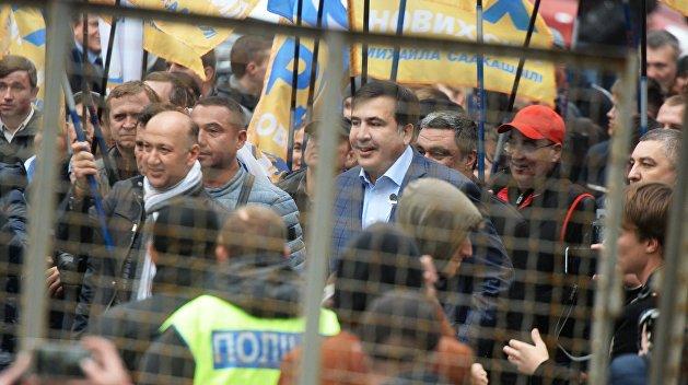 МихоМайдан под Радой: первые итоги акции протеста. Узнайте подробности!