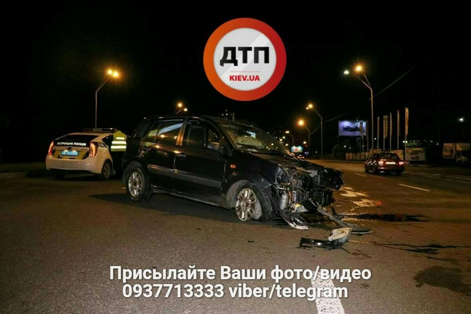 ШОК! Масштабное ДТП в Киеве: виновный – пьяный полицейский!