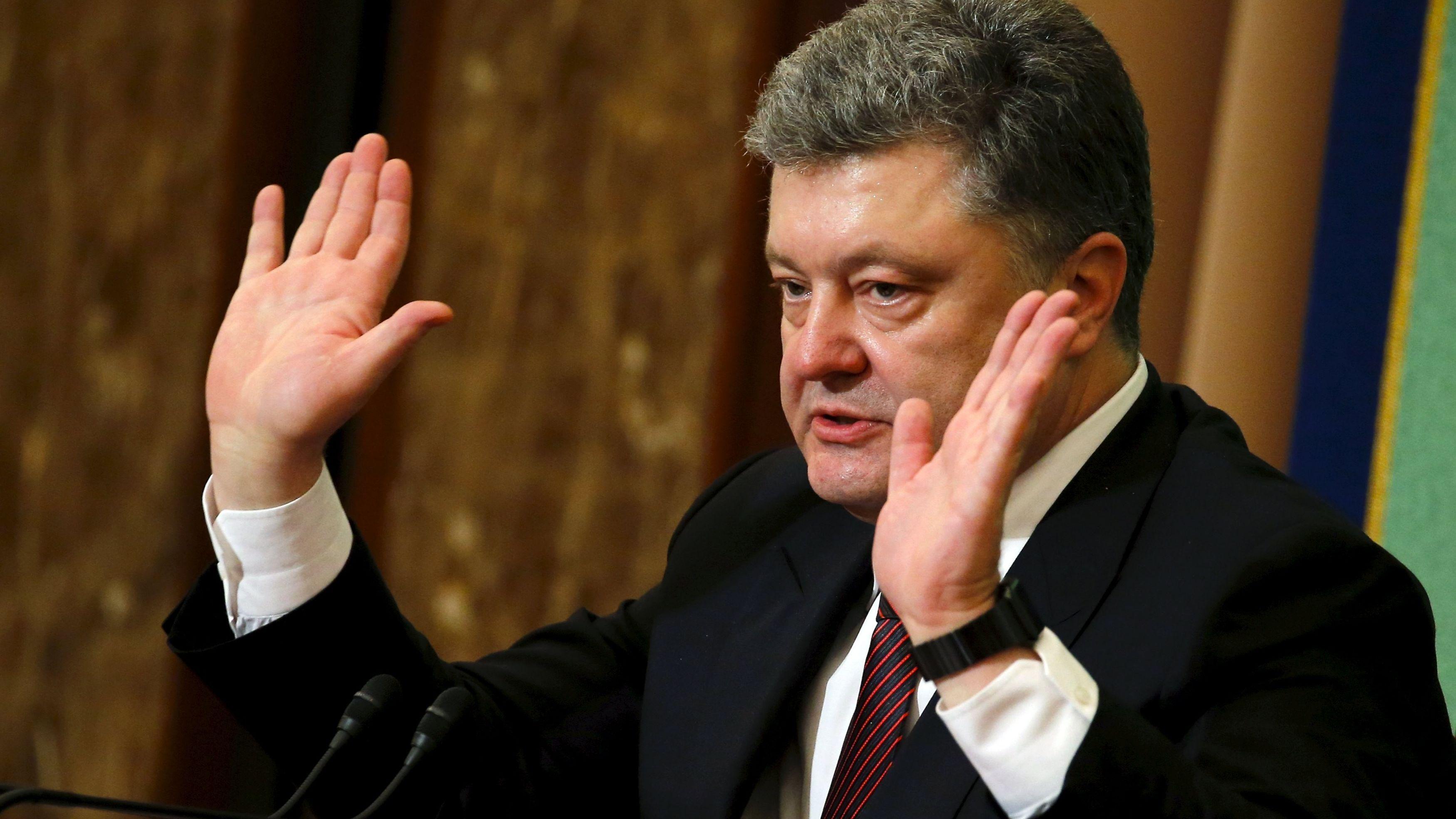 """СРОЧНО! Президент Украины """"включил заднюю"""""""