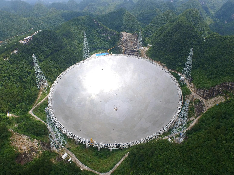 Гигантский радиотелескоп FAST сделал первое открытие