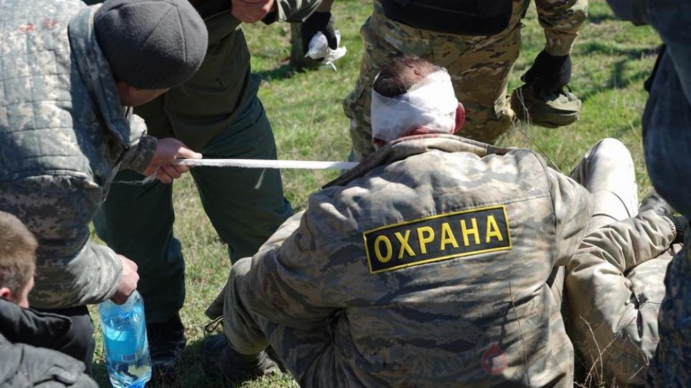Кровавое побоище в Одессе. Осторожно, на видео нецензурная лексика