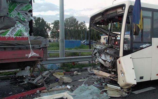 СРОЧНО!!! Под Киевом произошло ДТП с автобусом Нацгвардии, есть погибшие