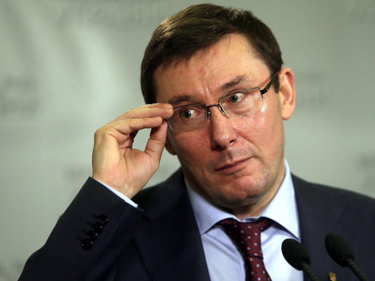 ГРОМКОЕ ЗАЯВЛЕНИЕ! Луценко вынес личный приговор для Саакашвили