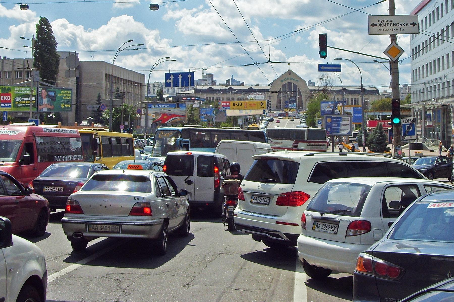 Транспортный коллапс: завтра Киев встанет в одной большой пробке