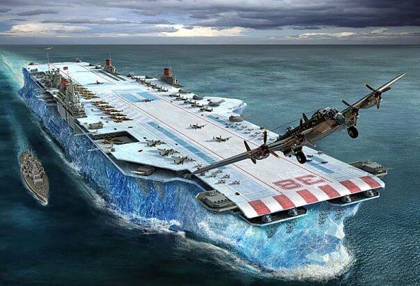 Британский секретный корабль из льда. Это не вымысел, а реальная история