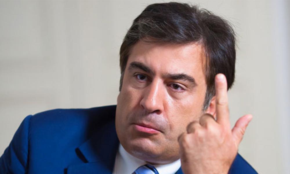 Саакашвили: СБУ ищет 20 мифических грузин вместо того, чтобы перекрыть кислород врагу