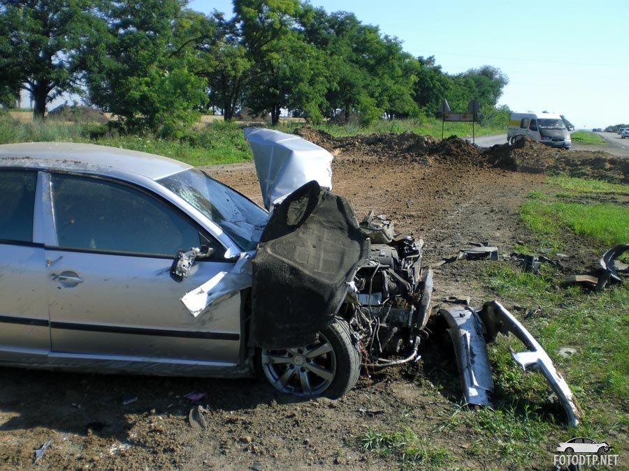 Тормоза придумал трус: уникальное видео автокатастрофы на скорости 200 км/ч
