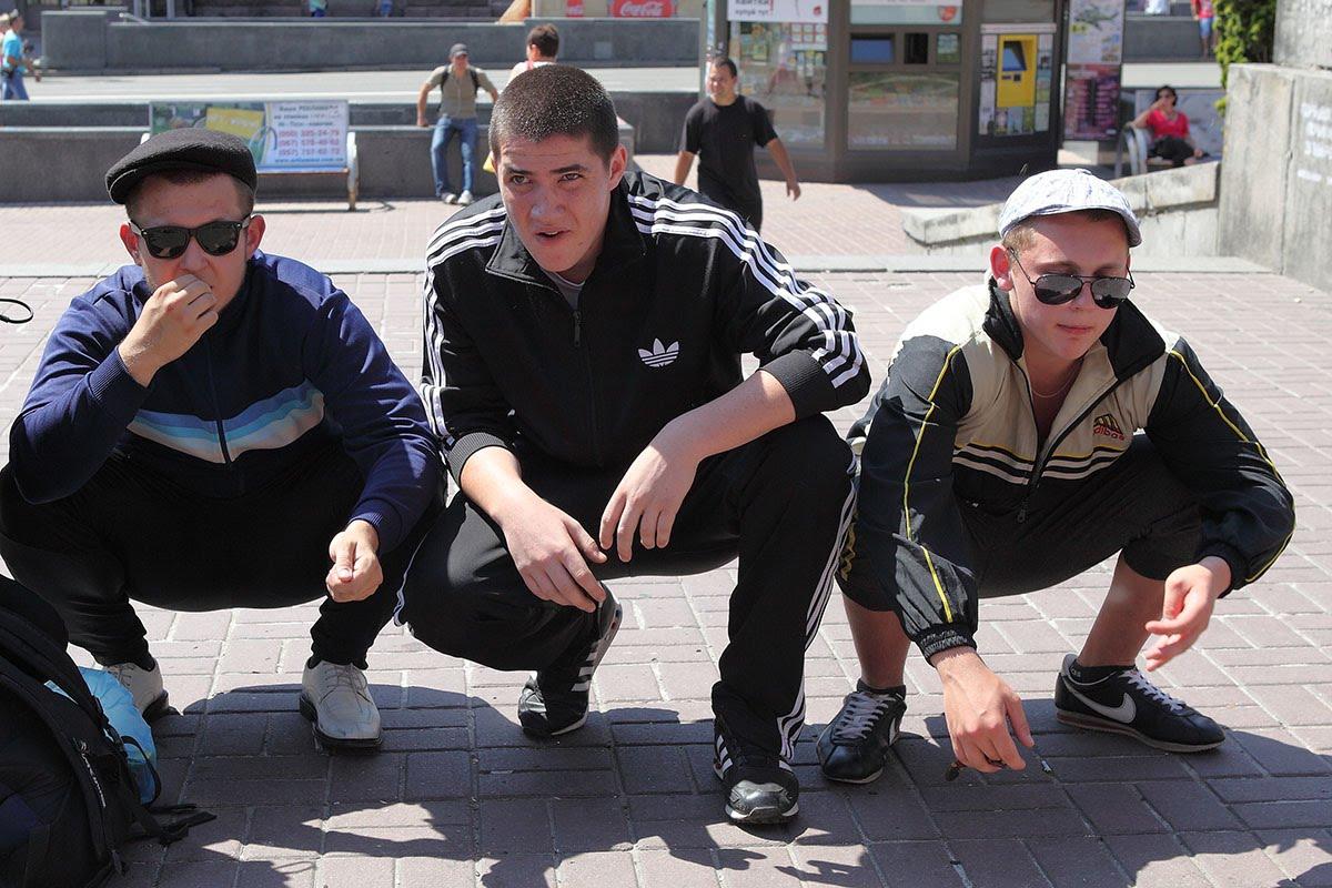 Кровавый дебош во Львове: по улицам опасно ходить