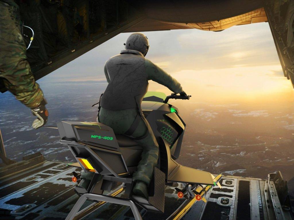 Фантастика: полиция Дубая пересаживается на летающие мотоциклы
