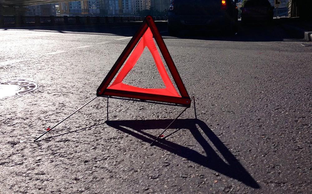 СРОЧНО! В Киеве автомобиль патрульной полиции сбил пешехода