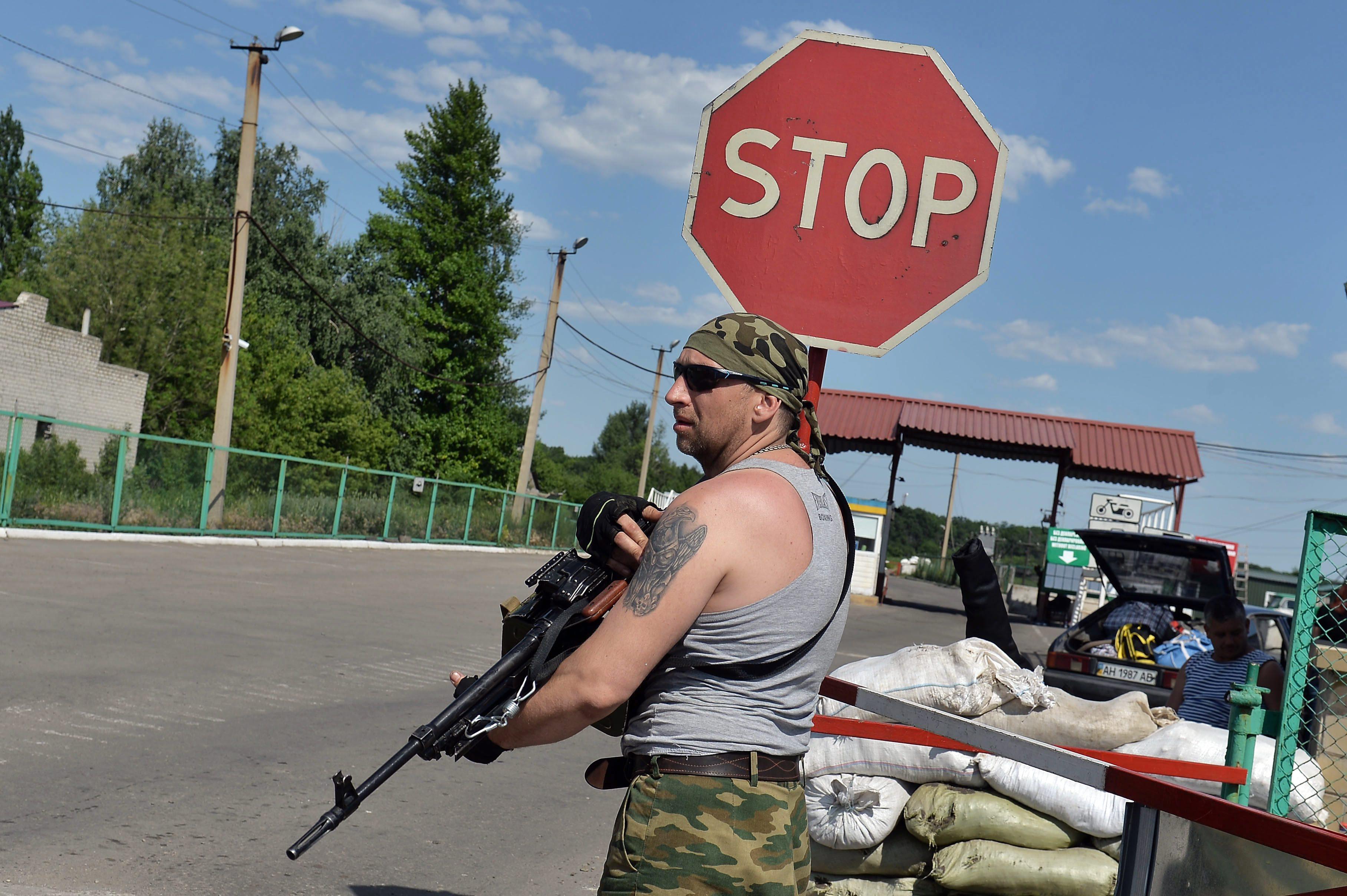 Перестрелка на украинско-российской границе. Есть жертвы. Первые подробности