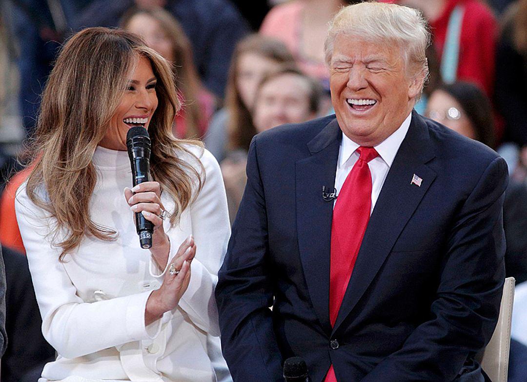 """""""Это не Меланья""""! Трамп обзавелся двойником жены?"""