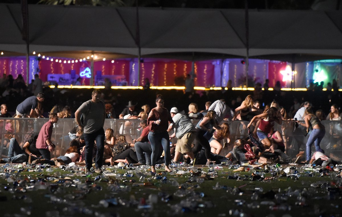 НЕ ДЛЯ СЛАБОНЕРВНЫХ! Появилось видео кровавого месива в Лас-Вегасе, которое вошло в историю США